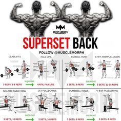Want a BIGGER Back? Try this workout 👆🏻LIKE/SAVE IT if you found this useful. FOLLOW @musclemorph_ for more exercise & nutrition tips 💪🏻 .…