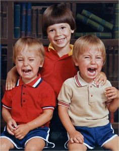 Seconds after Tommy tells the twins they are adopted, Santa is dead, and he IS the one who just farted