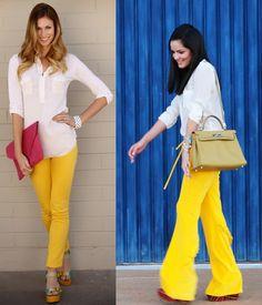 Amarelo para iluminar o ambiente de trabalho!