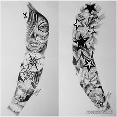 Full arm sleeve Más