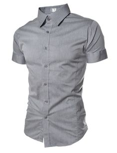 The Classic Short Sleeve Stretch Dress Shirt – Tattee Boy Clothes
