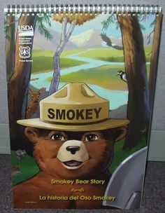 Book, Smokey Bear Story - Teacher's Version