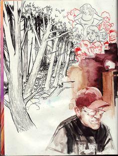 Sophie Franz sketchbook page