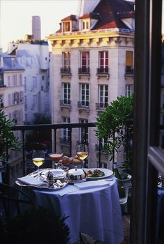Travel Inspiration for France - hotel le relais saint germain, paris. Imagining myself here in this very spot now:) Paris France, Oh Paris, Montmartre Paris, Paris In May, Paris At Night, Paris Cafe, France Europe, Oh The Places You'll Go, Places To Travel