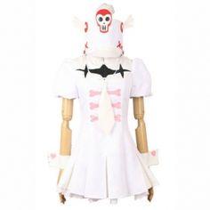 KILL la KILL Nonon Jakuzure Dress Cosplay Costume.Package includes: Dress, Tie, Hand wears, Hat. Fabric: Uniform Cloth.
