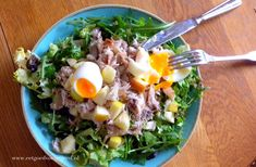 Salad Recipes, Healthy Recipes, Nutrition, Soul Food, Food Videos, Food Inspiration, Cobb Salad, Easy Meals, Veggies