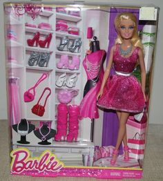 Barbie Doll with Lots of Accessories Life in the Dreamhouse Gift Set 3+ NIB  #DollswithClothingAccessories