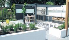 Laat je inspireren! Prachttuinen met vtwonen buitentegels bij BuiterBeton. Mix & Match je eigen terras | vtwonen buitentegels tuin terras outdoor tegels