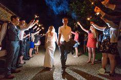 Wedding Evening Do at #TheGranaryBarns amazing work by http://www.petedenness.com/ #Sparklers #weddings