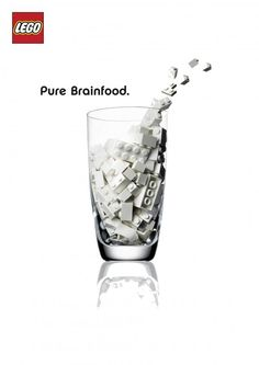 adv / Lego, Pure brainfood
