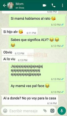 I love You/alv Funny Spanish Memes, Spanish Humor, Funny Images, Funny Photos, Funny Texts, Funny Jokes, Best Memes, Haha, Messages