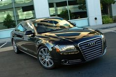 #Audi A8 - With black rims this would be perfect.