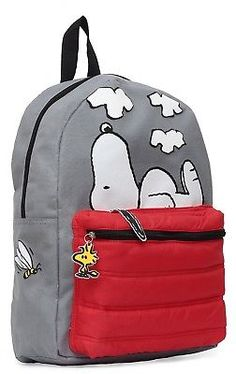 c286070325d6 Peanuts Snoopy on Doghouse 16 Backpack (Brand New) - FREE 2 DAY SHIPPING  Backpack