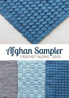 Square 4 (April) of the Crochet Along Afghan Sampler is Vertical Ribs. Slightly more dense than previous squares, it's still a reversible fabric. Get it here!