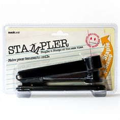 Stampler - The Stapler that Stamps