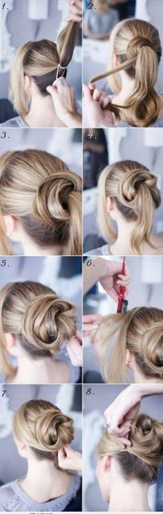 updos for shoulder length hair by gay