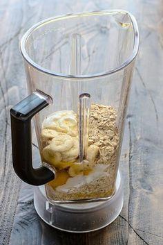 Muffins de banana y avena | 19 Recetas para licuadora súper fáciles que te ayudarán a comer más sano