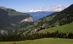 The quintessential Alpine town of Wengen looks straight out of Heidi. (From: Photos: Beautiful Villages Around the World)