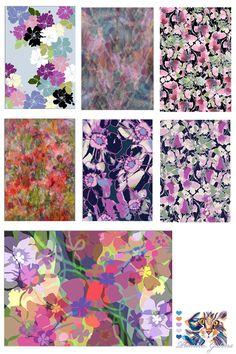Floral Pattern Designs by Pamela Gatens