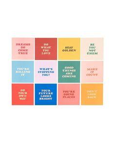 year of encouragement desk calendar by ban.do - calendar - ban. Web Design, Layout Design, Graphic Design Inspiration, Color Inspiration, Cover Design, Branding Design, Logo Design, Brand Identity Design, Print Design
