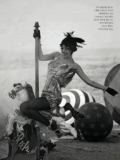 """""""Show Girl"""" by Hong Jang Hyun for Vogue Korea May 2013"""