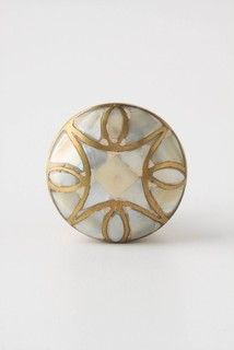 Mother-of-Pearl Knob - traditional - knobs - other metro - by Rebekah Zaveloff | KitchenLab