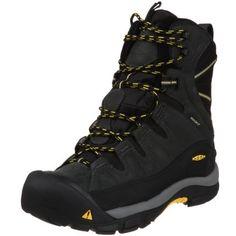 Keen Men's Summit County Waterproof Winter Boot,Dark Shadow/Yellow,13 M US Keen. $139.95. Rubber sole. leather. Waterproof
