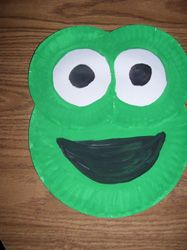 Frog Paper Plate Craft from Making Learning Fun