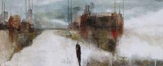 Au velours du temps, Mixed Media Painting, Poulin