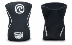 Rehband Rx CrossFit Games Knee Sleeve - 7mm - Black | Rogue Fitness
