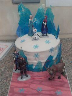 Pix Tiffrozen birthday cake of princess | Pix Tif