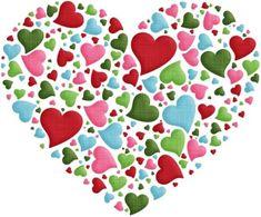 aw_burnin_heart made of hearts. Love Me Do, I Love Heart, Heart In Nature, Heart Art, Heart Wallpaper, Love Wallpaper, Valentine Day Love, Valentines, Heart Emoji