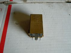 #BMW Windshield #Wiper #Double #Relay #Green-Brown 61368384505