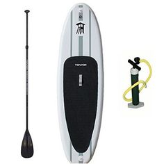Tower Paddle Boards Adventurer Inflatable SUP Package : Stand Up Padle : Sports & Outdoors Blow Up Paddle Board, Best Inflatable Paddle Board, Best Paddle Boards, Inflatable Sup, Best Fishing Kayak, Kids Roller Skates, Best Camping Gear, Thing 1, Yoga