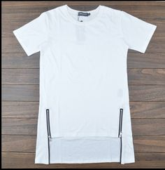 Find More T-Shirts Information about Long Basic Tee Style High Quality New Design Fashion Tyga Man Hiphop Hip Hop Tshirt Top Tees T shirt Men Side Split White Tees,High Quality tee shirt street wear,China tee reducer Suppliers, Cheap tee t-shirt from streetwear extended tee store on Aliexpress.com