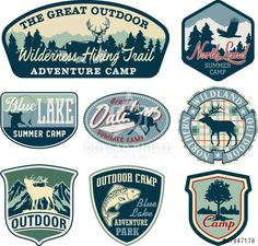 http://www.dollarphotoclub.com/stock-photo/Outdoor camping badges/47847178 Dollar Photo Club millions of stock images for $1 each
