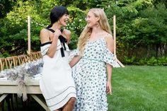 Athena Calderone's Hamptons party