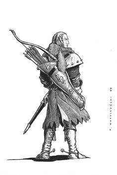 scoia'tael, old version by on DeviantArt Character Concept, Character Art, Character Design, Elf Characters, Fantasy Characters, Fantasy Portraits, Fantasy Artwork, Scoia Tael, Medieval