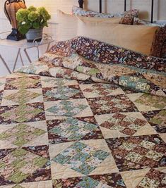 Country Romance Quilt Pattern Pieced BP