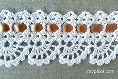 "MyPicot HOME WORK Free Pattern h017.pdf (Downloaded - SLT)  Crochet patterns from ""HOME WORK"", ROSE PUBLISHING CO. (LTD.), 1881 ""Narrow Prospect Lace No. 22"""