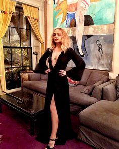 jessajohensson:  Jemima Kirke for Alicia Key's 'Keeping A Child Alive' 12th Annual Black Ball