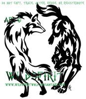Get this on my rib with the adverb about the two wolves fighting within good and evil and the one you feed more wins