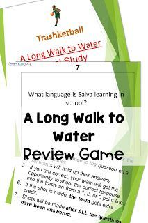 This fun activity resource includes four novel assessments on A Long Walk to Water by playing games. Great opportunity to get your middle school students up and out of their seats to keep them engaged. A win for you that they are learning, and a win for them because they're having fun! Check it out! Middle School Hacks, Middle School Teachers, Parents As Teachers, Middle School Science, School Tips, School Stuff, School Ideas, Reading Skills, Writing Skills