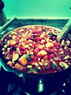 Best Veggie Chili, try it for Sunday dinner!