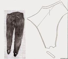 Досвід практичного шиття вузьких (угорських) штанів кінця XVI - поч XVII стліть.
