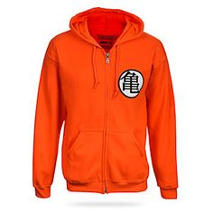 Dragon Ball Z Hoodie - Ka-me-ha-me-HA!  Looks great with a blue tank top underneath!   $37.49 - $49.99