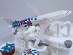 Flugzeug Plane Desigual Cake Torte