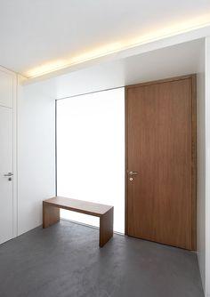 Flache Tür für eingang ohne dicken rahmen