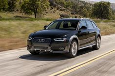 Best SUVs for Winter Driving: Audi allroad