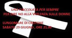 Crotone: UNA FIACCOLATA PER DARE VOCE AL SILENZIO GENERATO DALLA VIOLENZA